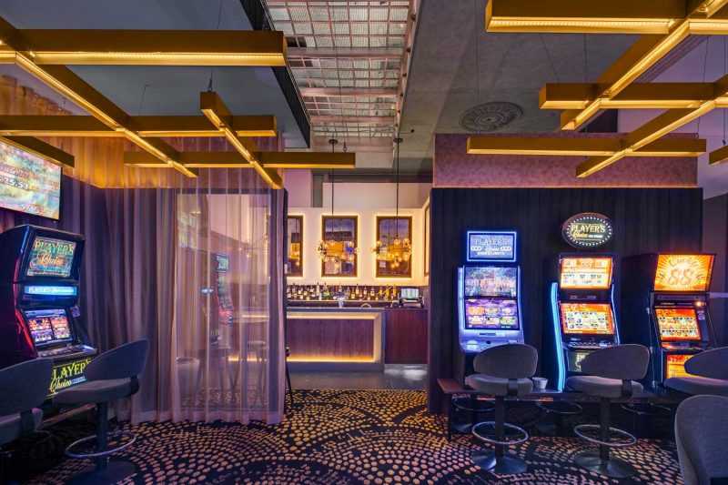 The Arthouse Hotel gaming room design by Paul Kelly Design