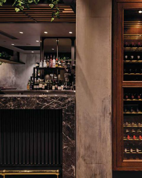 Exceptional attention to detail at Marble and Grain by Paul Kelly Design